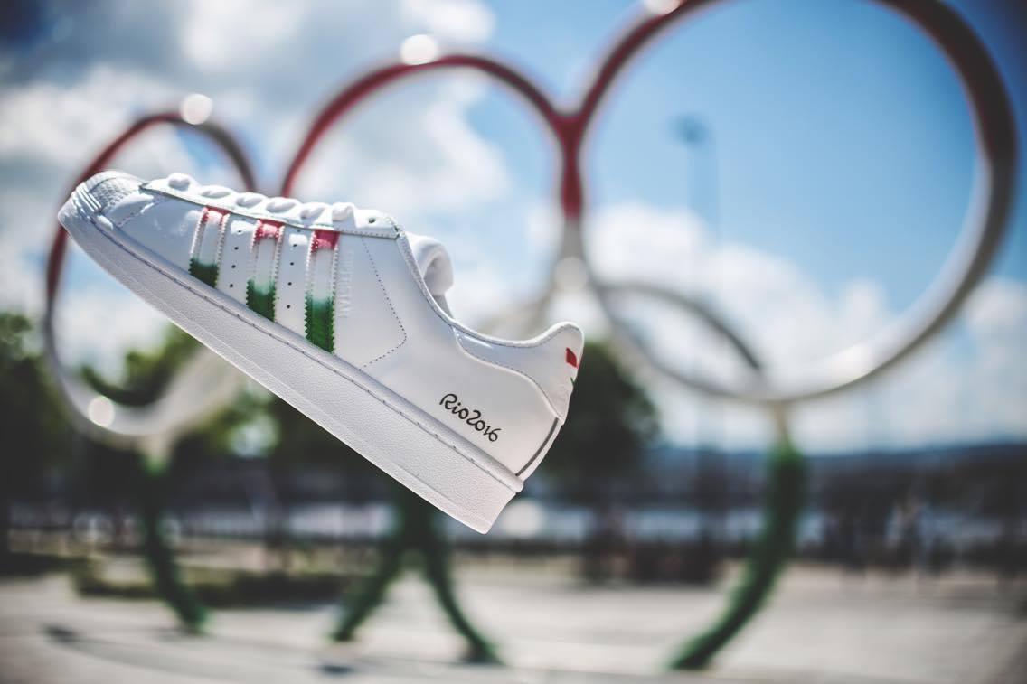 adidas Superstar Dent Kicks Custom Olympics Special 8581c4672f