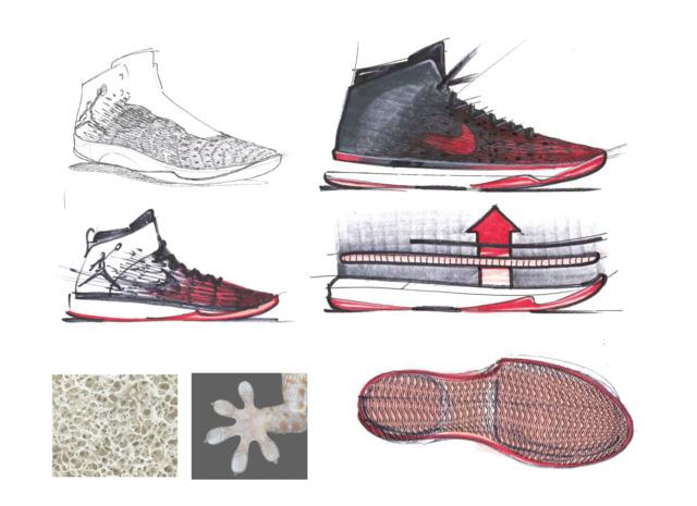 Air Jordan XXXI vázlatok