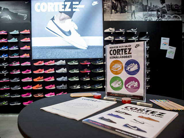 Nike Cortez Party @ Árkád Playersroom