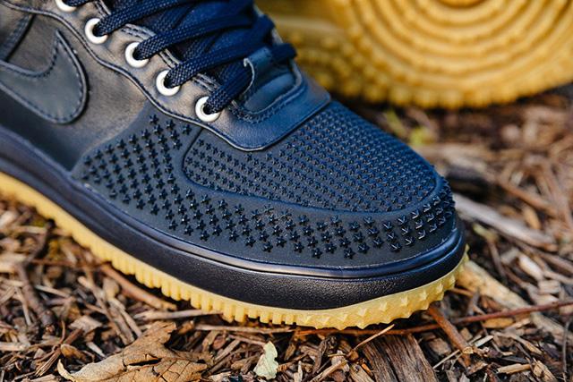 "Nike Lunar Force 1 Duckboot ""Dark Obsidian"" 805899-400"