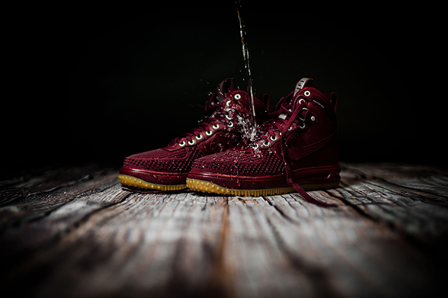 "Nike Lunar Force 1 Duckboot ""Team Red/Gum Light Brown"" 805899-600"