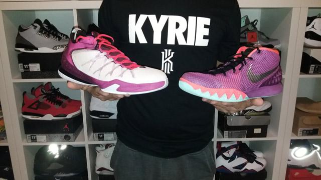 Nike Kyrie 1 és Nike CP3 VIII