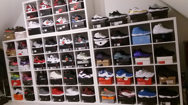 Posi kosaras sneaker kollekciója - íme a megcsappant készlet ;)