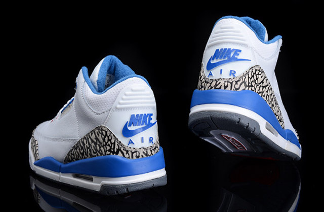 Jordan III True Blue