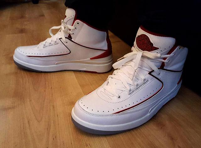 Cipő széles lábra 2: Air Jordan II sneakerbox.hu blog
