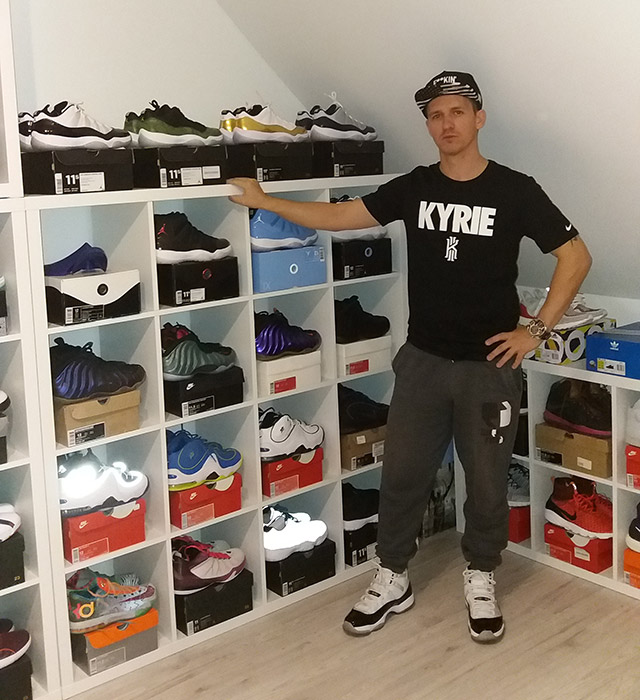 Sneakerhead interjú Posvancz 'Posi' Zolival