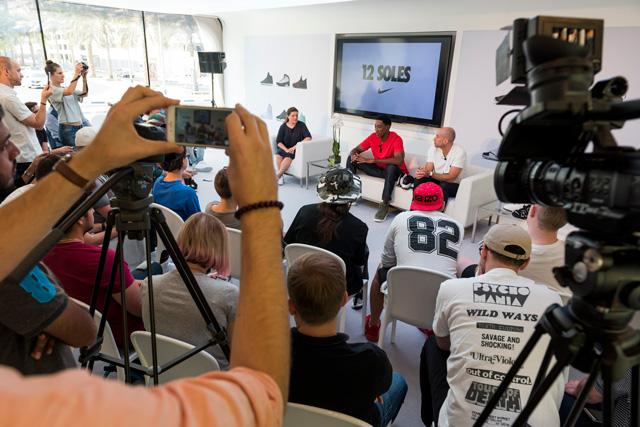 Scottie Pippen és Aaron Cooper interjú @ Dubaj