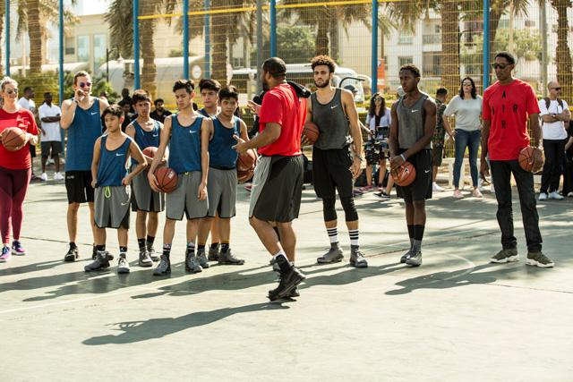 Nike basketball @ Al Satwa