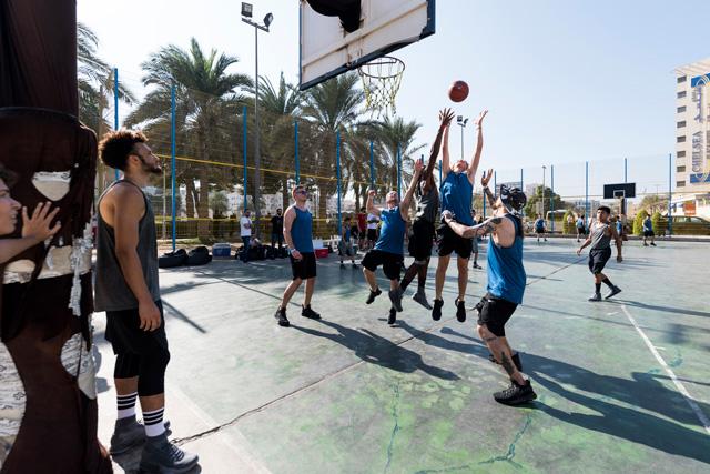 Ballin' at Al Satwa Dubai