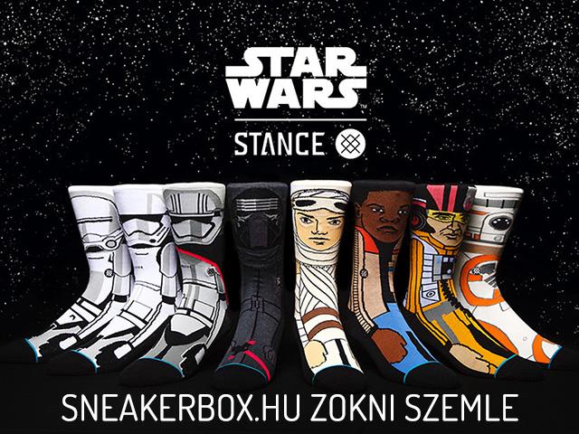 Star Wars x Stance Socks - Csillagok Háborúja zoknikollekció