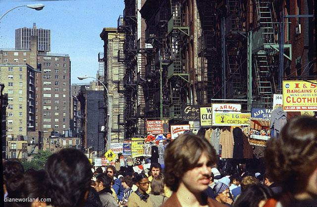 Utcai üzletek a 70-es és 80-as évek fodulóján