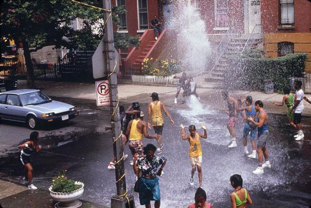 Brooklyn a 80 as évek végén (a Do the right thing film egy jelenete)