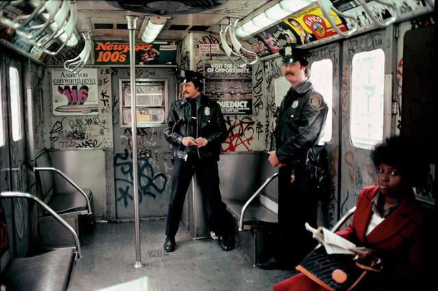 A metró New Yorkban a 80-as években