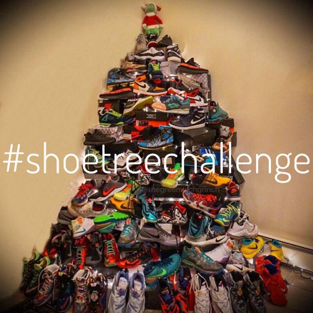 Sneaker karácsonyfa #shoetreechallange