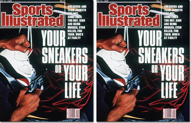 Sports Illustrated: Your Sneakers Or Your Life?