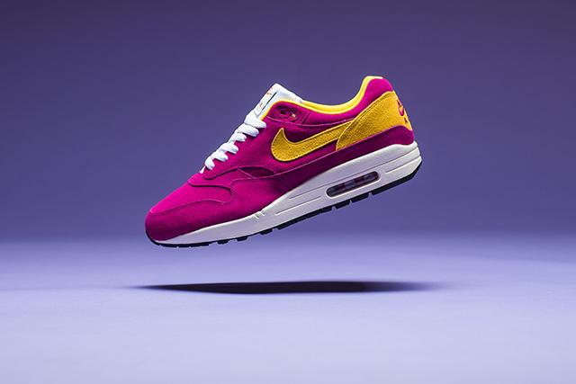 """Nike Air Max 1 Premium """"Dynamic Berry/Vivid Sulfur"""""""