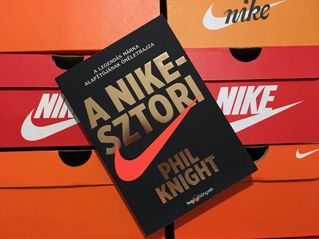 Nyerj egy példányt Phil Knight: A Nike-sztori című könyvéből!