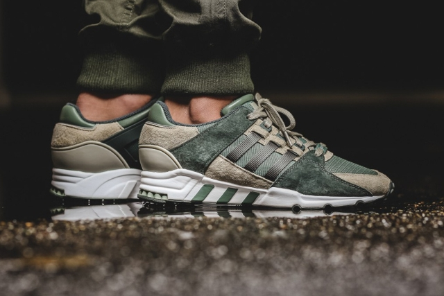 "adidas EQT Support RF ""Trace Green"" és ""Solid Grey"""