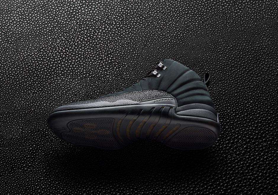 "Nike Air Jordan 12 OVO ""Black/Metallic Gold"""