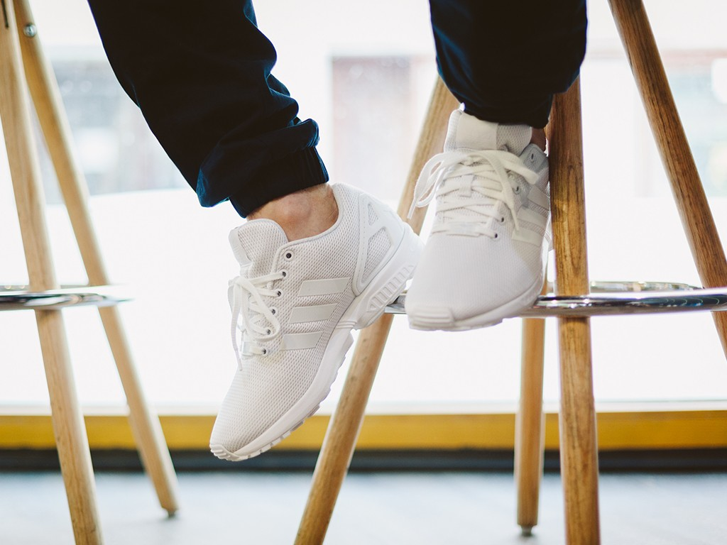 "adidas ZX Flux ""White/Clear Grey"""
