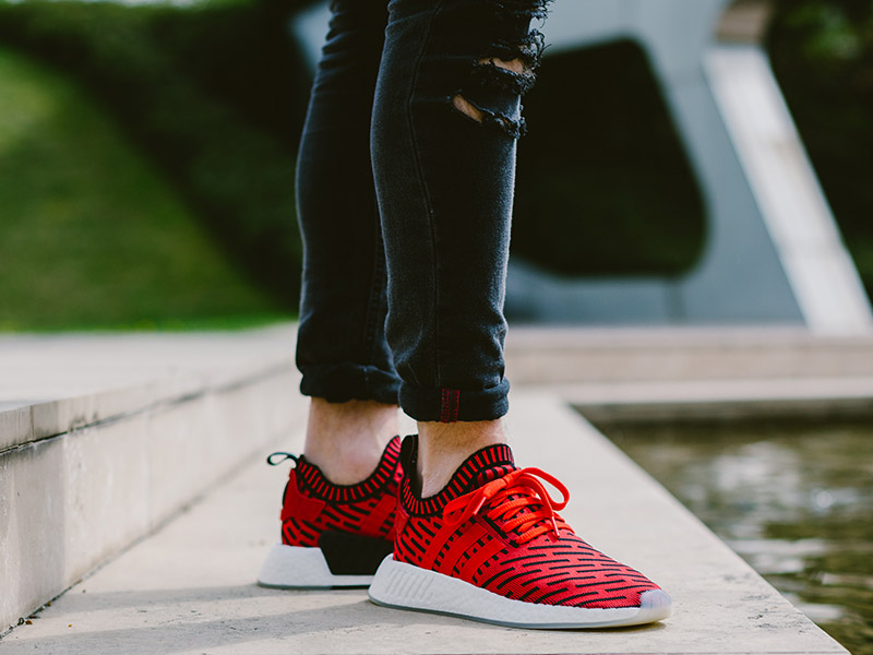 adidas Originals NMD R2 PK (BB2910 piros/fehér)