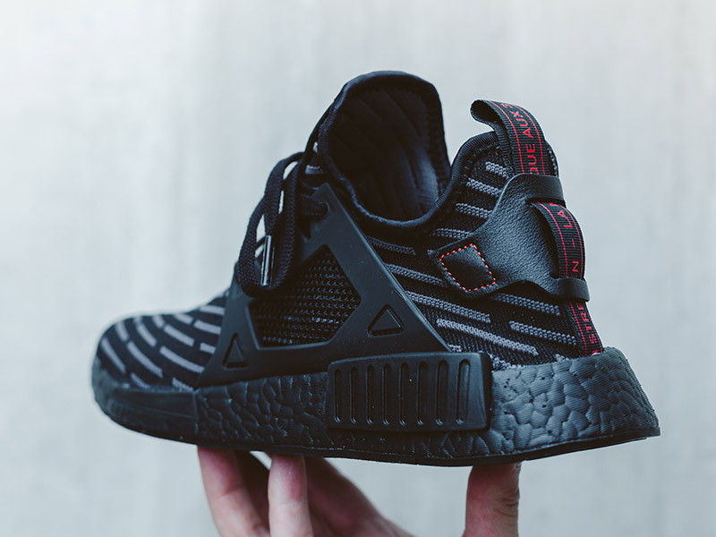 adidas NMD XR1 (Core Black/Core Black/Core Red)
