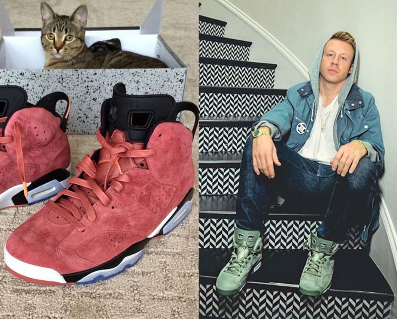 Macklemore saját Jordan modellje a Clay és a Cactus színállásban, Forrás: Sole Collector