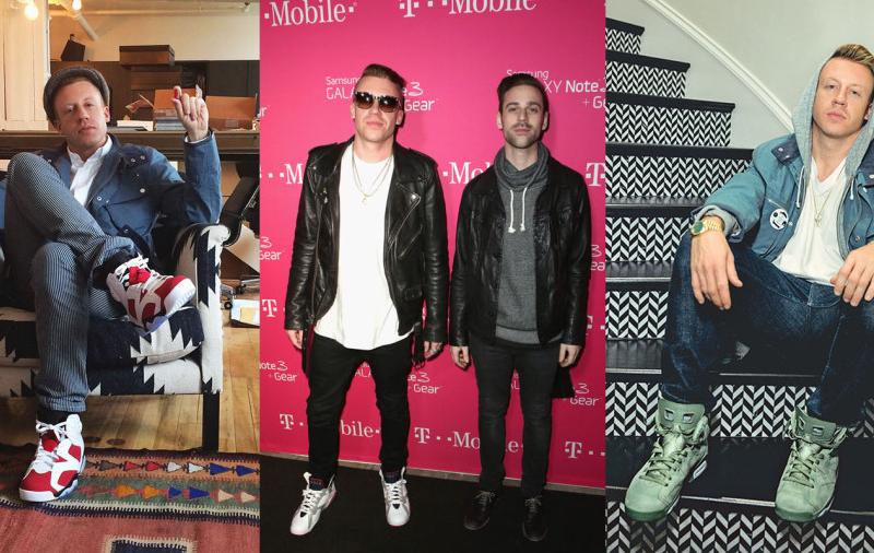 Pár szép sneaker Macklemore stílusába kombinálva, képforrás: Nice Kicks