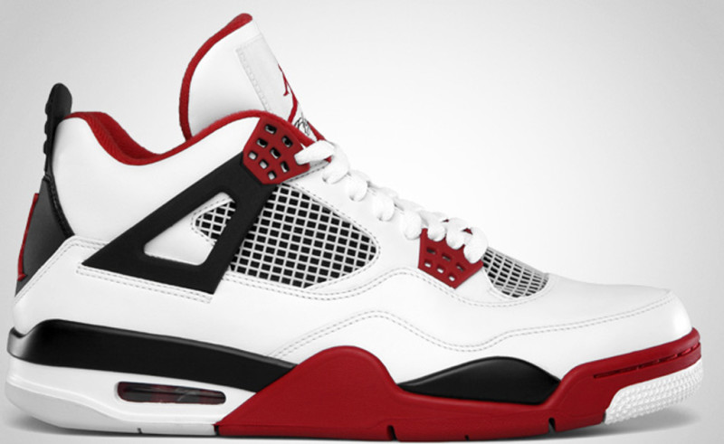 Macklemore első Jordan cipője, az Air Jordan 4 'Fire Red', képforrás: Sole Collector