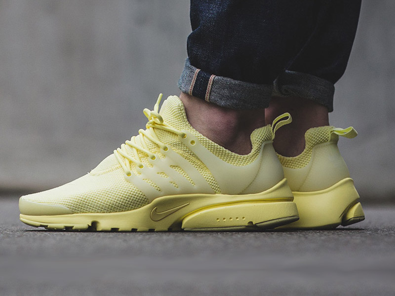 Nike Air Presto Ultra Breathe (898020-700 Lemon Chiffon)