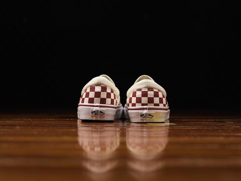 Vans Slip-On Checker piros-fehérben