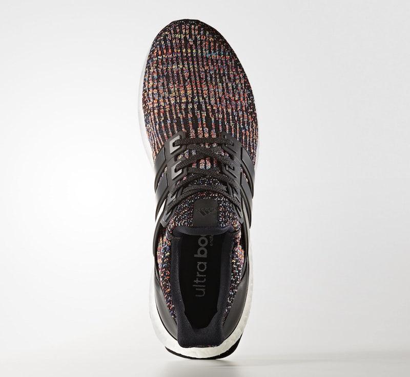 Adidas Ultra Boost 3.0 Multi-Color felülről - képforrás: Kicks On Fire