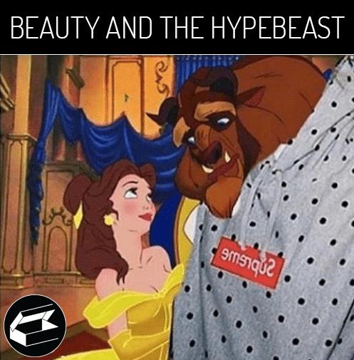 Sneaker mém: Beauty and the HypeBeast