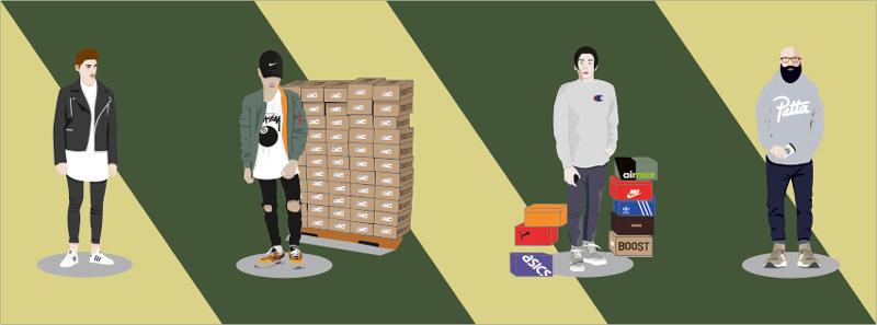 Itt a magyar sneakerheadeket bemutató sorozat második része!