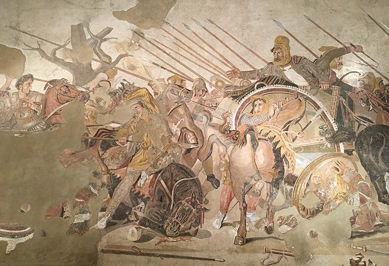 A híres Alexandros mozaik