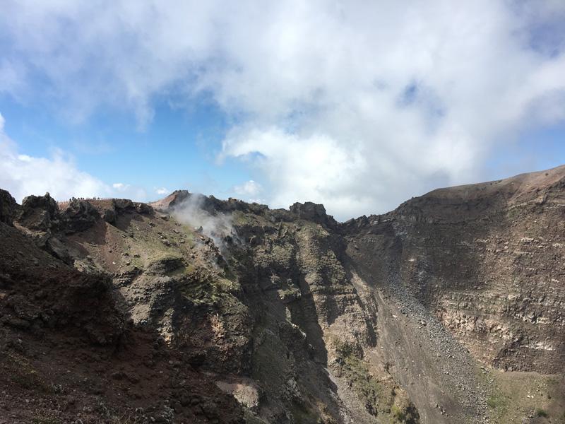 A Vezúv krátere
