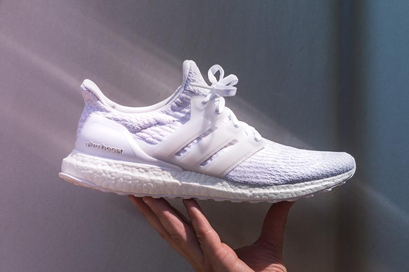 "adidas Ultra Boost 3.0 ""Footwear White/Crystal White"""