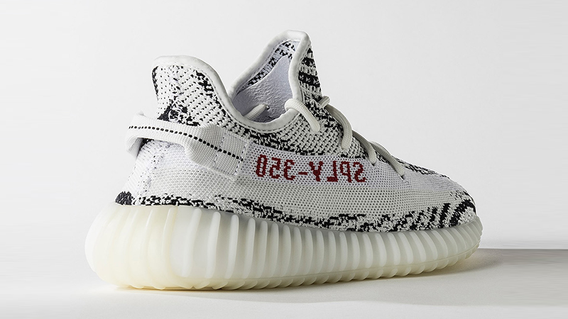 Adidas Yeezy Boost 350 v2 Zebra - képforrás: The Sole Supplier