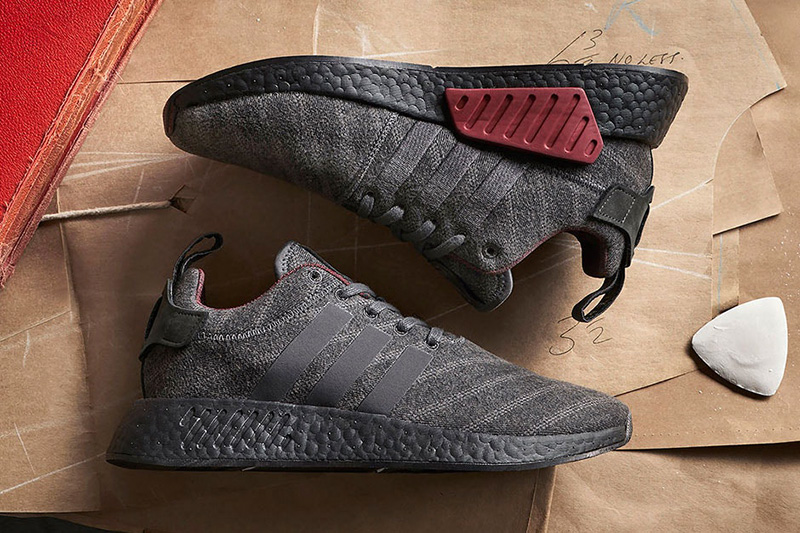 Size? x Henry Poole x adidas NMD R2