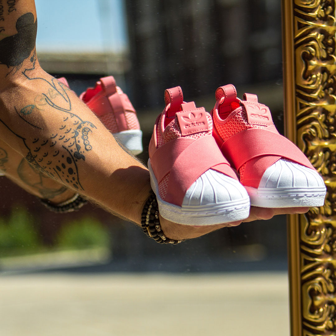 adidas Superstar Slip-on pinkben