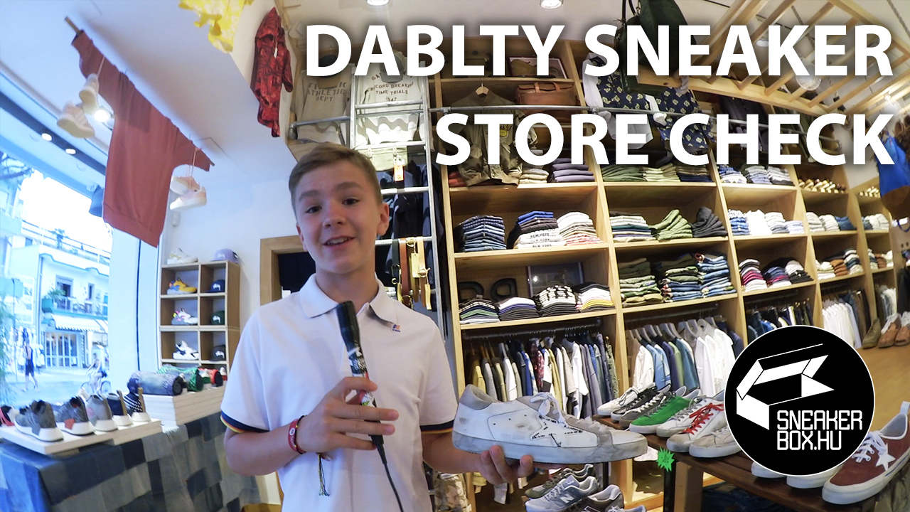 Sneaker store check by Dablty