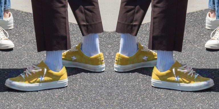 "Converse One Star x Tyler The Creator ""Sulphur-Yellow"" - képforrás: Brand Outlet Magazine"