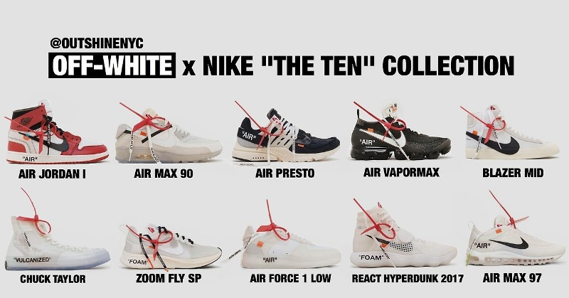 Nike x Off-White: Virgil Abloh: a THE TEN kollekció