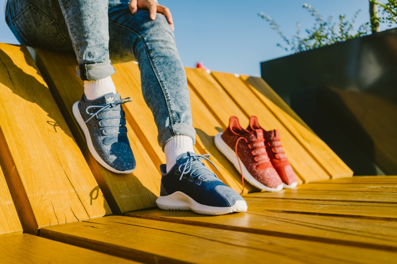 Adidas Tubular Shadow - piros és kék kombó