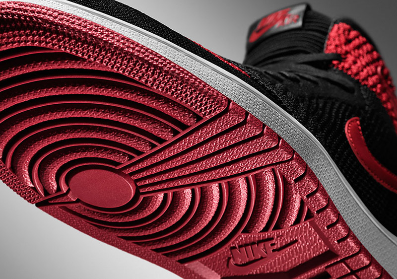 "Air Jordan 1 Flyknit ""Bred"""