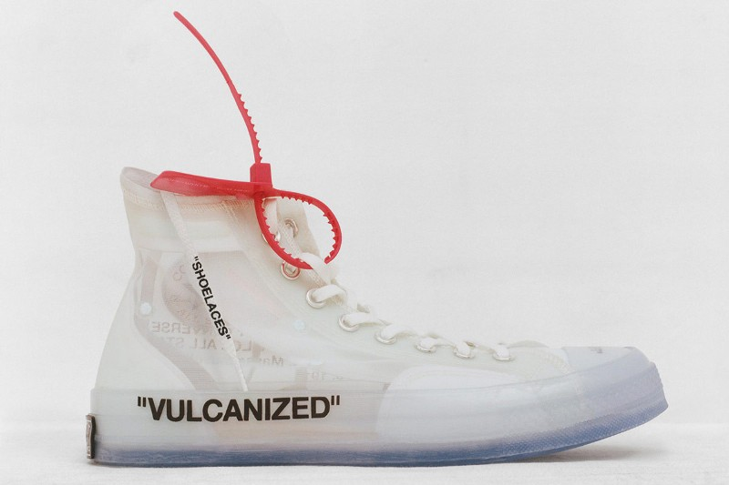 Nike x Off-White collab: Converse Chuck Taylor All Star