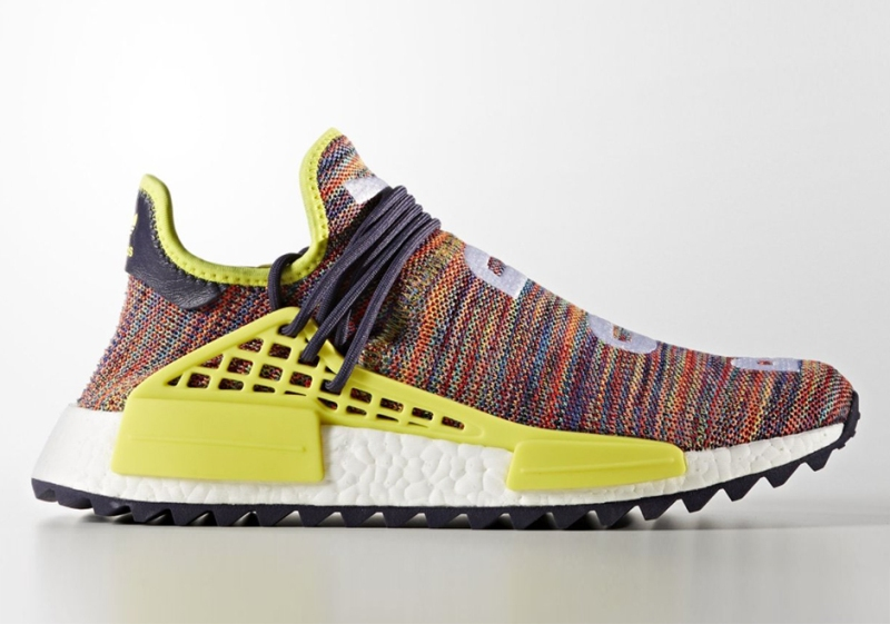 Pharrell adidas Human Race Trail Noble Ink / Bold Yellow / Footwear White