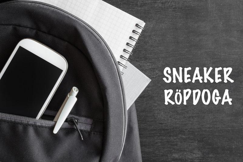 sneaker röpdoga