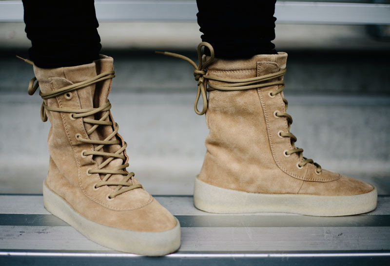 Yeezy 950 Crepe on feet