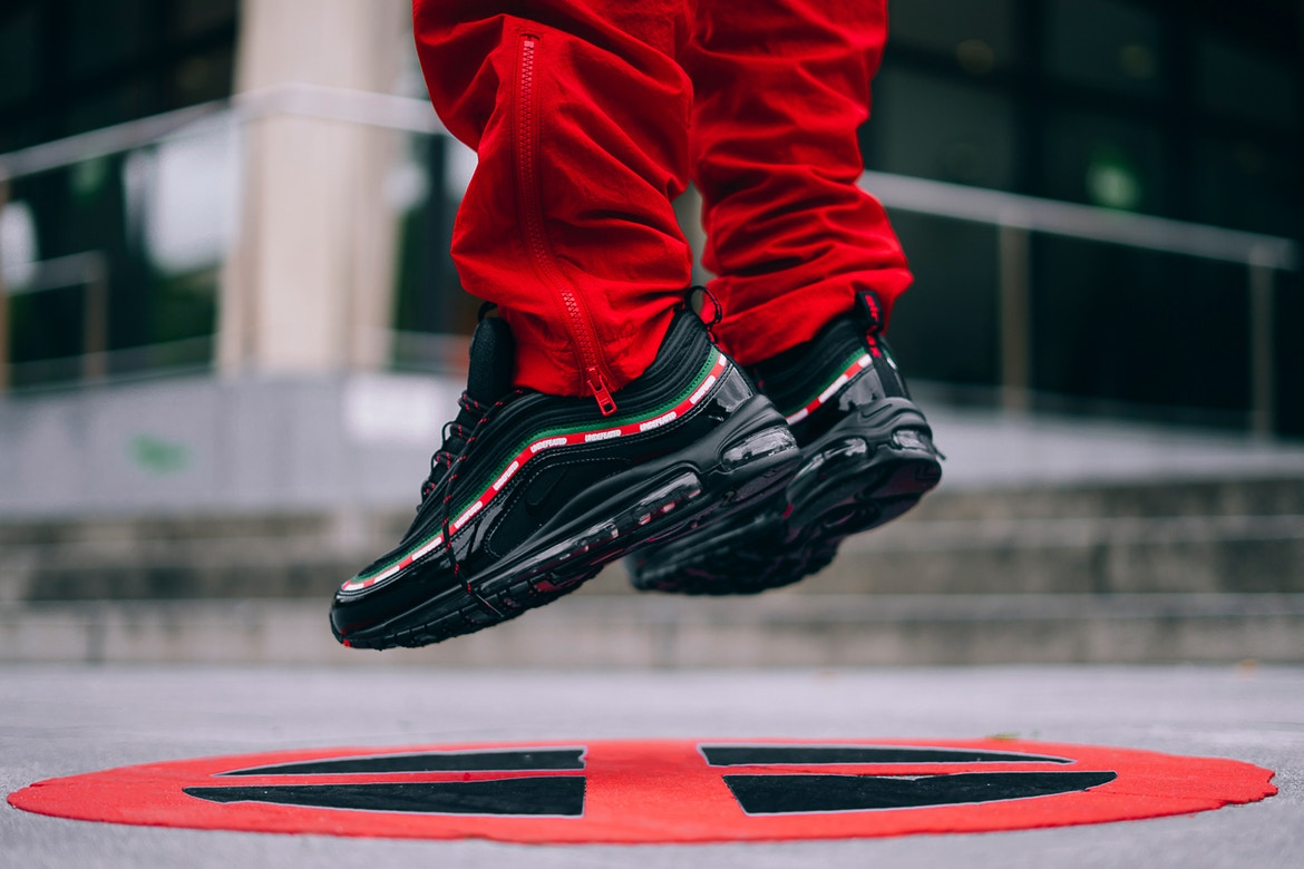 Undefeated x Nike Air Max 97 on-feet